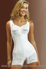WEDDING CORSET~REDUCE FAT-WAIST CINCHER GIRDLE FAJA~LIFTS BREAST/BUTT RET$750