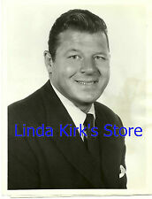"Jack Carson Promotional Photograph Ford Theatre ""Paris Edition"" ABC-TV 1956"