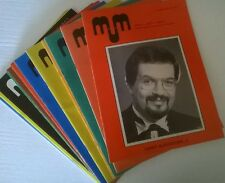 M-U-M Society of American Magicians Magazine lot (12) 1979 complete year
