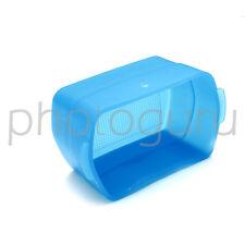 DIFFUSORE BLU softbox per flash esterno CANON 580 EX CANON 580 EX II