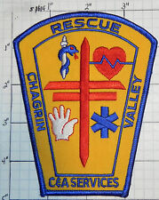 OHIO, CHAGRIN VALLEY RESCUE C&A SERVICES  PATCH