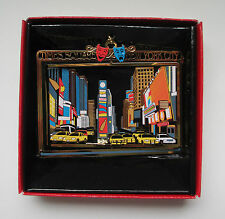New York City Brass Ornament Times Square NYC Taxis Travel Souvenir Gift