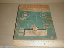 1949 Pontiac Hydra-Matic Drive Shop Manual Factory Service Auto Car Repair