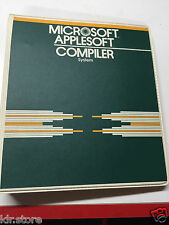 Microsoft Applesoft Compiler System for Apple ii II Plus iie old Vintage
