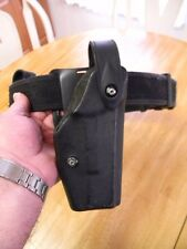 PRODUCTION WORN POLICE OFFICER'S NYLON DUTY BELT, HOLSTER AND POUCHES!!
