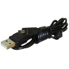 HQRP USB Cable para Olympus Stylus 1000, 1010, 1020, 1030 SW, 1040, 1050 Cámara