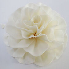 .Big Size Classic Carnation Rope Dried Flower White Sola Wood Diffuser Oil#SW041