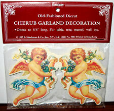8FT ANGEL CHRISTMAS TREE GARLAND Mint Condition Factory Sealed SHACKMAN