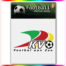 """KV Oostende UEFA Die Cut Vinyl Sticker Car Bumper Window 2.2""""x4"""""""