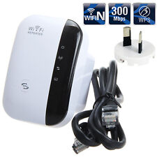 300Mbps Wireless N 802.11 AP Wifi Repeater Range Booster Extender Router AU Plug