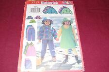 Butterick Pattern # 5717 - Girl's Jacket, Jumper, Skirt, Pants, Hat - Sz 2-8 New