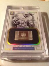 2016 Earl Campbell IMPECCABLE Gold NFL Logo .5 Troy Ounce 1/1 Oilers