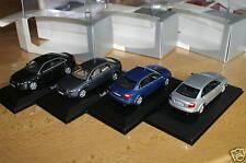 1:43 Audi A4 B6 black blue silver grey schwarz blau silber grau NoOVP MINICHAMPS