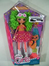 """NEW LALALOOPSY DYNA MIGHT GIRLS 10"""" DOLL WITH PET RACOON 2014"""