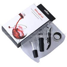 Rotwein Korkenzieher Flaschenverschluss Tropfring Belüfter Ausgießer Set Barware
