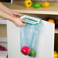Kitchen Hanging Trash Rubbish Bags Holder Garbage Racks Cupboard Hanger IM