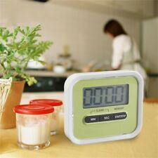 Magnetic Digital Lcd Kitchen Timer Count Up Down Egg Cooking Chef Tool OE