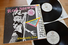ROD STEWART Absolutely Live 2LP gatefold WEA 92.3743-1