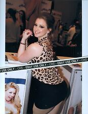 SUNNY LANE SEXY!! COLOR CANDID 8x10 PHOTO HOT ADULT FILM STAR!! #4868