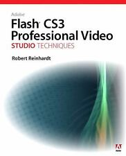 Adobe Flash CS3 Professional Video Studio Techniques, Reinhardt, Robert, , Book,