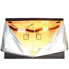 120x120x78 Mylar 600D Reflective Grow Tent Non Toxic Hydroponic 10x10x6 Roo
