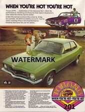 HOLDEN TORANA GTR XU1 A3 ADVERTISEMENT POSTER SALE BROCHURE WALL ART 186 202