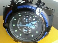 Mens Invicta Reserve Bolt Zeus Swiss Made Chronograph Black Rubber Watch SALE..