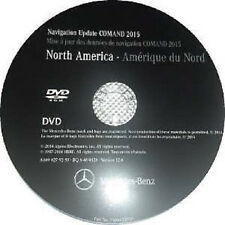 Mercedes NTG2 (MCS II) DVD Comand Aps North America v12 2015 Navigation DVD Maps