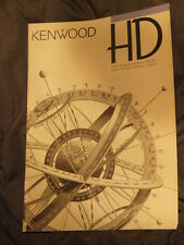vintage Kenwood Trio 1993 Brochure high end HD X GE T A DM DP 1001 LS 300G