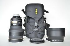 Nikon Nikkor 200mm F/2 G ED IF AF-S VR Autofocus Lens free shipping to lower 48!