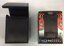Max Pro ION DECK BOX  METALLIC BLACK -for Magic the Gathering MTG YuGiOh Pokemon