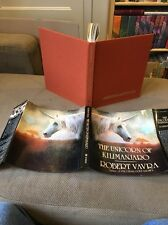 THE UNICORN OF KILIMANJARO Robert Vavra 1988 hcdj 1st Color Illustrated