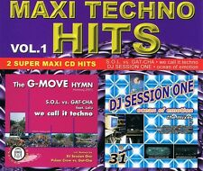 Maxi Techno Hits Vol.1- Maxi CD MCD - S.O.L. vs. Gat-Cha DJ Session One