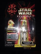 Star Wars Action Figure Episode 1 Battle Droid W Blaster Rifle
