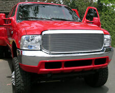 2002 2003 2004 FORD F-250 F-350 SUPER DUTY POLISHED BILLET GRILLE GRILL T-REX