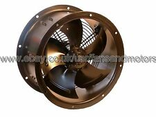 Industrial Duct Fan, Cased Axial Fan, Commercial Extractor 300mm, 12inch