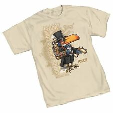 2013 Tan Steampunk Toucan Top Hat Bird Comicon Comic-Con Tee T Shirt NIP New