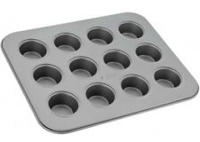 Non-Stick Bakeware 12 Cup Mini Muffin Tin 25.5x20.5x2cm Dishwasher Safe Judge
