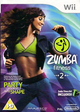 Zumba Fitness 2 (Nintendo Wii, 2011) - US Version