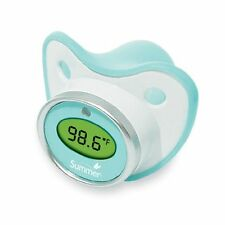 Baby Summer Infant Pacifier Thermometer Teal/White New Gift