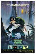 Swamp Thing Poster 01 A2 Box Canvas Print