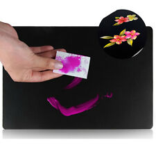 Manicure Painting Practice Board Nail Art Palette Reusable Washable Pad Tool