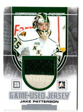 NHL Trading Cards---Jersey Card--Jake Patterson--London Knights