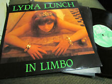 Lydia Lunch In Limbo Sonic Youth '84 lp nick cave RARE sonic youth goth punk WOW