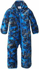 Columbia Baby Boys Snowtop II Bunting, Hyper Blue Critter, 18-24 Months