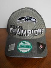 Seattle Seahawks Super Bowl XLVIII Champions 9FORTY Trophy Collection Hat - Gray