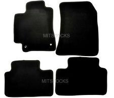 FIT FOR 01-05 LEXUS IS300 BLACK NYLON CARPET FLOOR MATS 4 PIECES