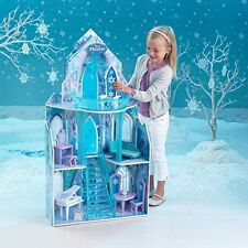 Disney Frozen Dollhouse Girls Dream Barbie Size Doll House Castle Princess Toy N