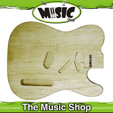 New DR Parts Tele Style Alder Electric Guitar Body - Sanded & Sealed - ZB302