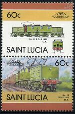 1922 NER Electric 2-Co-2 Class EE1 Locomotive No.13 Train Stamps / LOCO 100